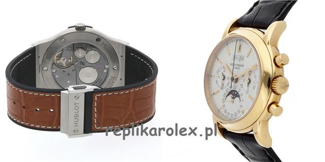 Repliki Zegarków GMT Ultimate Chronograph Oglądanie z tobą